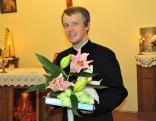 Priesteris Vitālijs Fiļipenoks pateicās par apsveikumu un atzina, ka Lūznavas draudze vienmēr atceras priestera svētkus