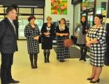 Dagdas novada pašvaldības kolēģi viesojas Rēzeknes novadā