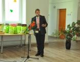 Rēzeknes novada pašvaldības Izglītības pārvaldes priekšnieks Guntars Skudra savā uzrunā īpaši sveica gan pirmklasniekus, gan izlaiduma klašu – 9. un 12. klases audzēkņus.