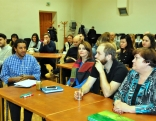 """ERASMUS+ projekta ietvaros notika diskusija """"Kafija ar politiķiem"""