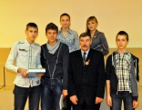 1. vieta - Jaunstrūžānu pamatskolas komanda (sagatavoja skolotājs Andrejs Zahars)