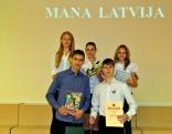 2. vieta - Maltas vidusskolas pirmā komanda