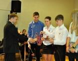 Sagaidot Valsts svētkus, katrs dalībnieks saņēma Latvijas karodziņu