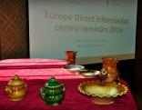 Europe Direct informācijas centru seminārs 2016