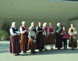 Rogovkas folkloras ansambļa vadītāja Anna Garanča atklāj, ka Rogovkā vēl arvien maija vakaros notiek dziedājumi pie krustiem.