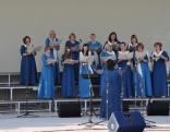 """Maltas pagasta sieviešu koris """"Madariņa"""". Diriģē Kristīne Zeltiņa"""