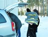 Gērnsijas Latviešu asociācija apdāvināja bērnus no Tiskādu bērnu nama