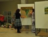Iemīlējušās Latgalē. Gleznotāju apvienības V.I.V.A. izstādes atklāšana Latgales amatniecības centrā Līvānos