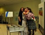 Ziedi un bučas mājas saimniecei - Latgales mākslas un amatniecības centra vadītājai Ilzei Griezānei