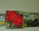 Izstādes Latgales Mākslas un amatniecības centrā Līvānos atklāšanas krāsainie mirkļi.