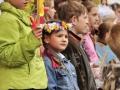 """IX Rēzeknes rajona skolu jaunatnes dziesmu un deju diena """"Saulainās mājas"""" 2009. g. 01. jūnijs"""