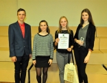 Uzvarētāji - Austrumlatvijas Tehnoloģiju vidusskolas komanda