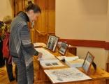 Konferences rīkotāji bija sarūpējuši nelielu novadpētniecības materiālu izstādi, veltītu Staņislavam Kambalam.
