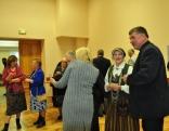 Sarunas un diskusijas (no labās - Bērzgales pagasta pārvaldes vadītājs Arvīds Dunskis un  Valentīna Pozņaka (Bauska)