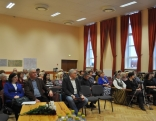 Auditorija bija aktīva, Ŗeferentiem nācās atbildēt uz daudziem jautājumiem.