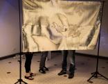"""Lūznavas muižā atklāta starptautiska digitālās mākslas izstāde """"TELPA ATBALSĪM"""""""