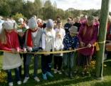 Ozolmuižas pagastā atklāts Cylvāka bārna piedzīvojumu parks