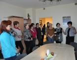 Projektu vadītāji un pagastu pārstāvji apmeklē Zemgali