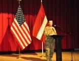 ASV vēstniecības Latvijā aizsardzības sadarbības biroja vadītājs pulkvežleitnants Roberts Makvejs (Robert McVey)