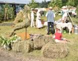Rikavas pagasts pagājušogadu sēņoja, šogad viņu tēma ir siens. Kāpēc? Tāpēc ka šovasar zemniekiem ar siena sagatavošanu neiet viegli.