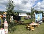 Bērzgales pagasts piedāvāja radošās darbnīcas bērniem.