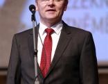 Uzņēmējus sveic Rēzeknes novada domes priekšsēdētājs Monvīds Švarcs