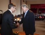 """Balvu nominācijā """"Gada uzņēmums 2018"""" pasniedz Rēzeknes novada domes priekšsēdētājs Monvīds Švarcs"""