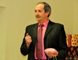 Folkloras kopu sveic Čornajas pagasta pārvaldes vadītājs Oļegs Kvitkovskis