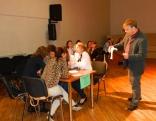 Konkursu prasmīgi vadīja Izglītības pārvaldes Interešu izglītības speciālists Guntars Skudra.