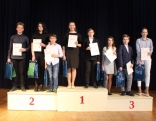 Uzvarātuoji 5.-8. klašu grupā - 1. vītā Sonora Logina, Osvalds Tūmiņš, 2. vītā Mārīte Zīra, Ervīns Jakovelis, Jānis Piveks, 3. vītā Renārs Jūrdžs, Amanda Silicka, Viktorija Reble.