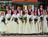 XXV Dziesmu un XV Deju svētku dalībnieki no Rēzeknes novada