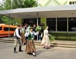 Ierodamies Rīgas 46. vidusskolā, kas nedēļu būs Rēzeknes novada dziesmu svētku pārstāvniecība.