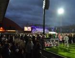 Brīnišķīgais svētku atklāšanas koncerts.