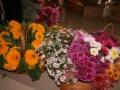 Ziedu dāvināšana Māras zīmju izveidei un ziedu nolikšana pie Latgales atbrīvošanas pieminekļa 8.09.2009.
