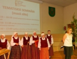 Tirdziņu rīkoja Europe Direct informācijas centrs Austrumlatgalē, sadarbībā ar Rēzeknes novada pašvaldību, tāpēc visus klātesošos sveica informācijas centra vadītāja Laura Ieviņa.