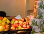"Z/s ""Ķirši"" no Lendžu pagasta - āboli un ābolu sula."