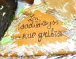 Aglonas maizes cepējas Vijas Kudi''nas novēlējums!
