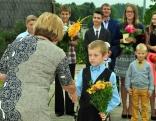 Skolēnu apliecības saņēma arī tie bērni, kuri šogad ir uzsākuši mācības Bērzgales pamatskolā