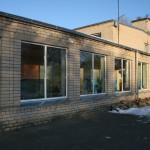 Kaunatas vidusskolas ēkas remonts