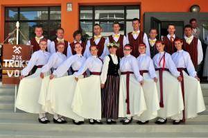 Nautrēnu pagasta jauniešu deju kolektīvs