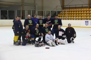 Hokeja komanda - uzvarētāja