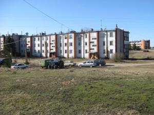 Daudzdzīvokļu mājas Stoļerovā
