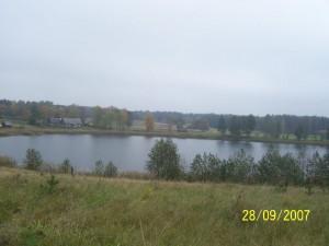 Brīvdienu māja Jāņi - skats uz ezeru