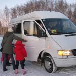 Pasažieru mikroautobusa iegāde