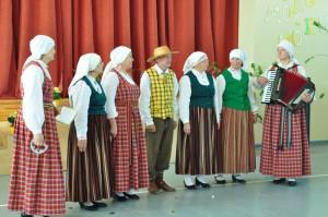 Verēmu tautas nama folkloras kopa Vorpa