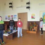 Audriņu pamatskolas skolēnu darbu izstāde