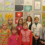 Sakstagala mazie mākslinieki