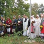 Dzīvās vēstures pasākums ar Latgales karoga pacelšanu un Kroma kolna bruolistes paraugdemonstrējumiem
