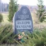 Piemiņas zīme bīskapam Jezupam Rancānam