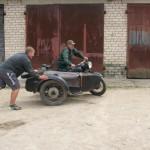Motociklu brauciens Bērzgalē, foto:Daila Ekimāne